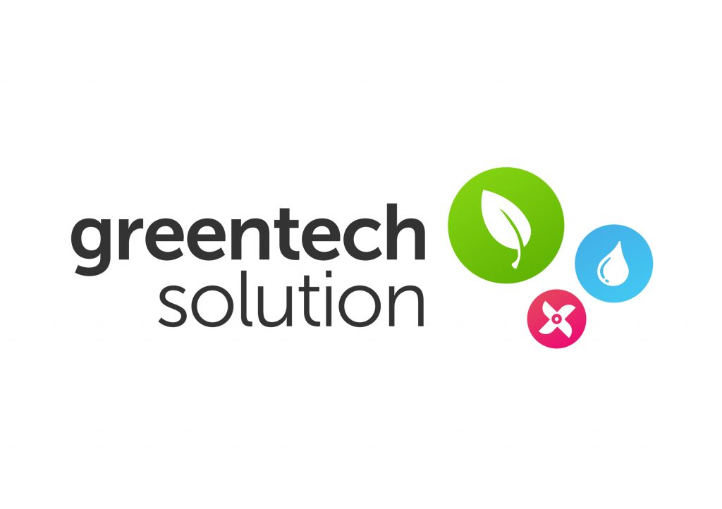 green tech solution logo